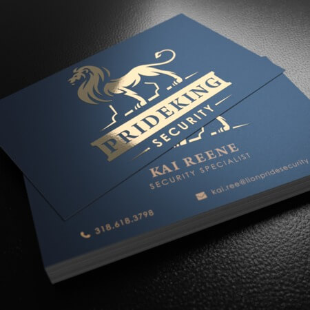High quality business cards printing fast easy uprinting foil business cards reheart Images